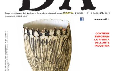 D'A Ottobre 2018 – Marzo 2019
